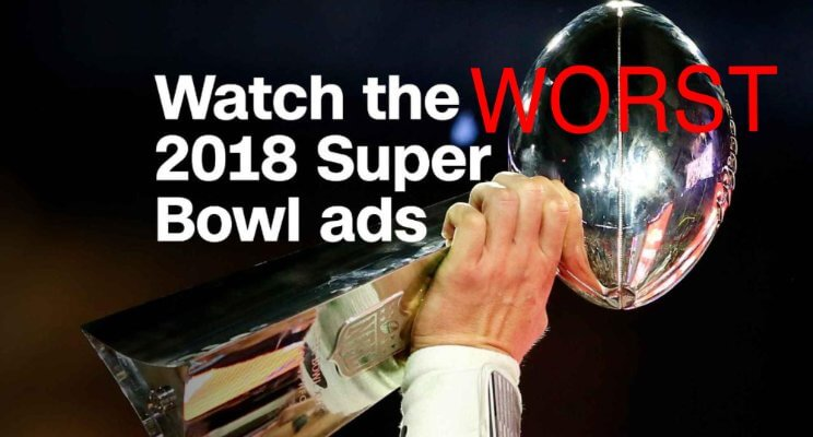 The worst Super Bowl LII Commercials